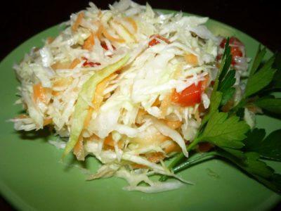 как сделать салатную капусту