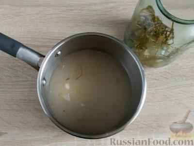 как сделать горчицу на огуречном рассоле