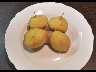 как приготовить купаты в духовке с картошкой