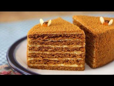 как приготовить торт медовик