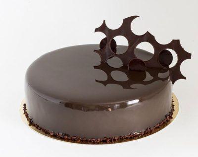 как сделать цветную глазурь для торта