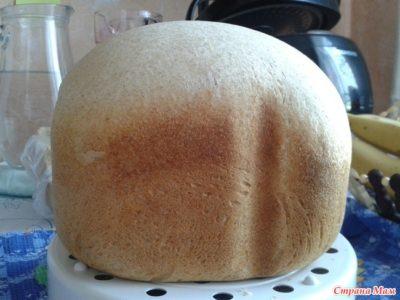 как испечь хлеб на закваске в хлебопечке