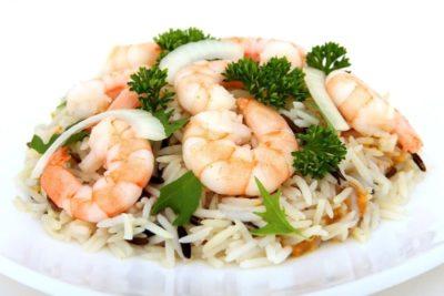 рис с морепродуктами как называется