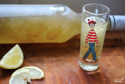 как сделать лимончелло из водки