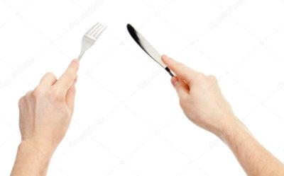 как правильно держать нож