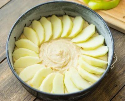 как сделать пирог шарлотка