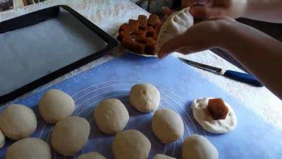 как сделать пирожки с повидлом