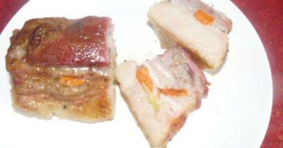 почеревок свиньи как приготовить в духовке