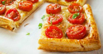 как приготовить пиццу из слоеного бездрожжевого теста