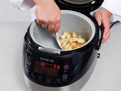 как готовить на пару в мультиварке редмонд