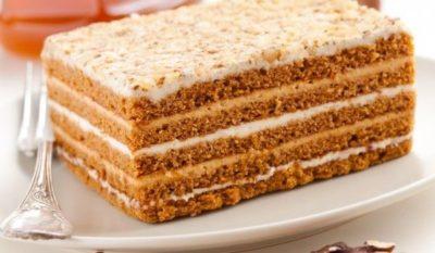 как приготовить торт со сгущенкой