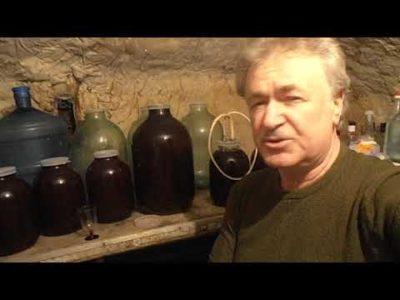 как сделать вино из варенья без дрожжей