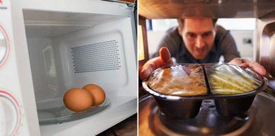 как сделать хлеб в микроволновке