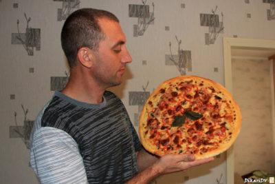как сделать пиццу в кружке