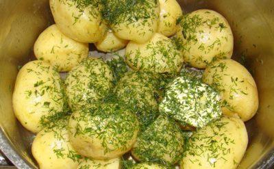 как запечь картошку в духовке кружочками