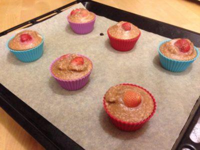 как сделать кексы в духовке