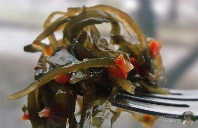 как замариновать морскую капусту
