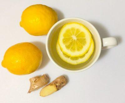 как сделать лимон с имбирем