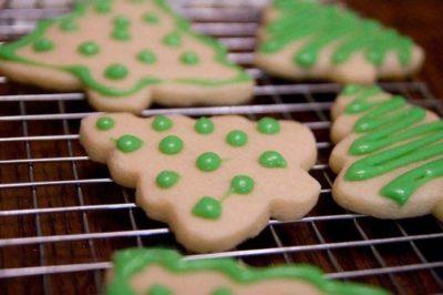 как сделать сахарное печенье