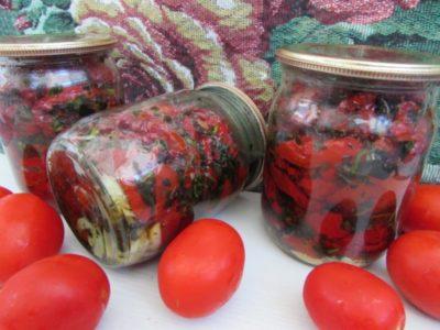 что такое вяленые помидоры