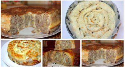 как приготовить пирог из лаваша
