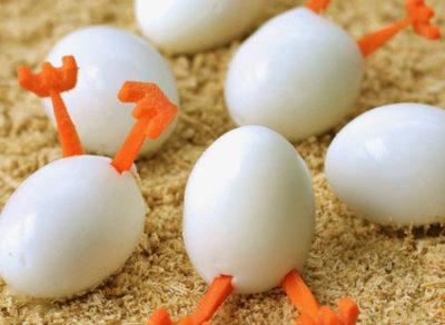 что сделать из яиц