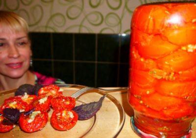 как сделать вяленые помидоры