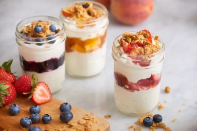 что можно сделать из йогурта