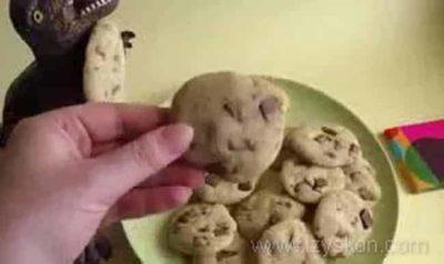 как сделать печенье в микроволновке