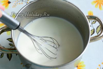 как сделать сироп для пропитки бисквита