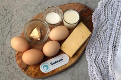 яйца с молоком как называется