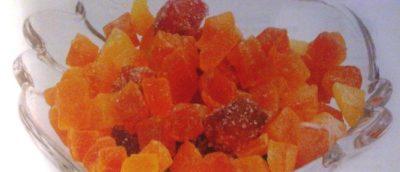 как делают цукаты из фруктов