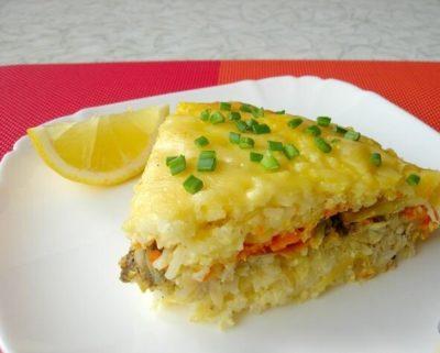 как приготовить картофельную запеканку в духовке