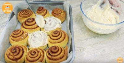как сделать булочки синабон
