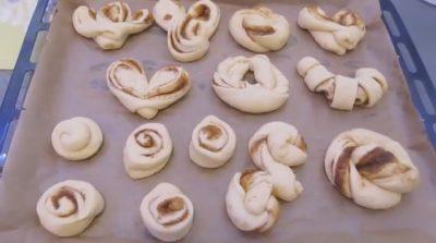 как сделать булочки с начинкой