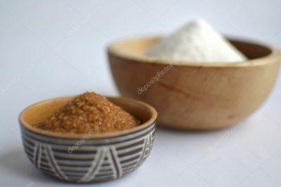 как сделать коричневый сахар