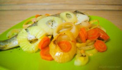 как вкусно приготовить сибаса в духовке