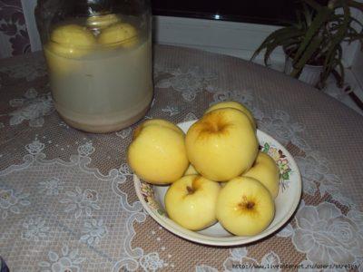 что такое моченые яблоки