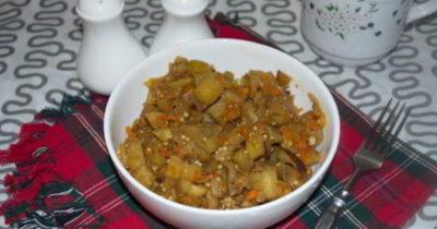 как приготовить овощное рагу с баклажанами