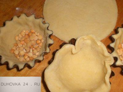 как приготовить тесто для тарталеток
