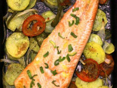 как запечь овощи в духовке