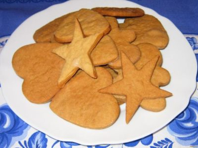 как сделать печенье без масла