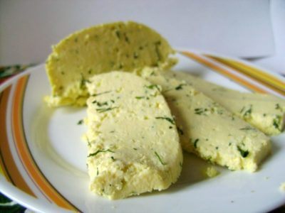 как сделать сыр из кефира и сметаны
