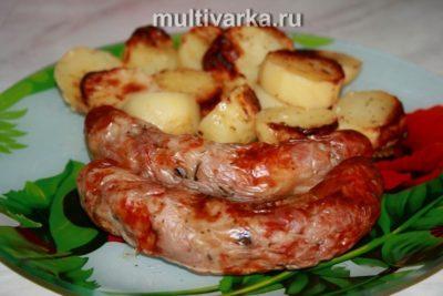 как приготовить колбаски для жарки в духовке