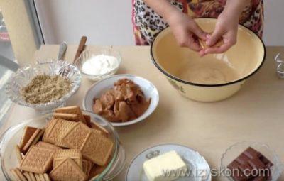 как приготовить муравейник из печенья