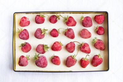 как правильно замораживать ягоды