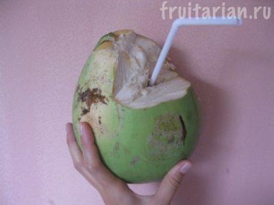 что делать с мякотью кокоса