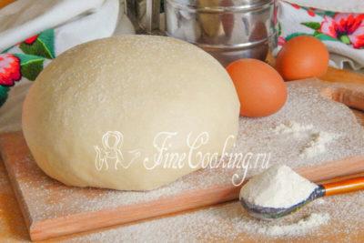 как заводить тесто на пироги
