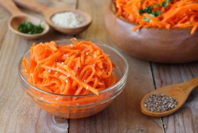 как натереть морковь по корейски
