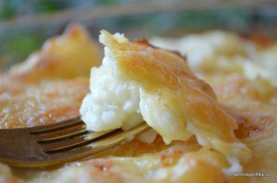 как приготовить картошку с молоком в духовке
